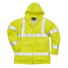 Hi Vis Yellow Rain Jacket (Assorted Sizes)